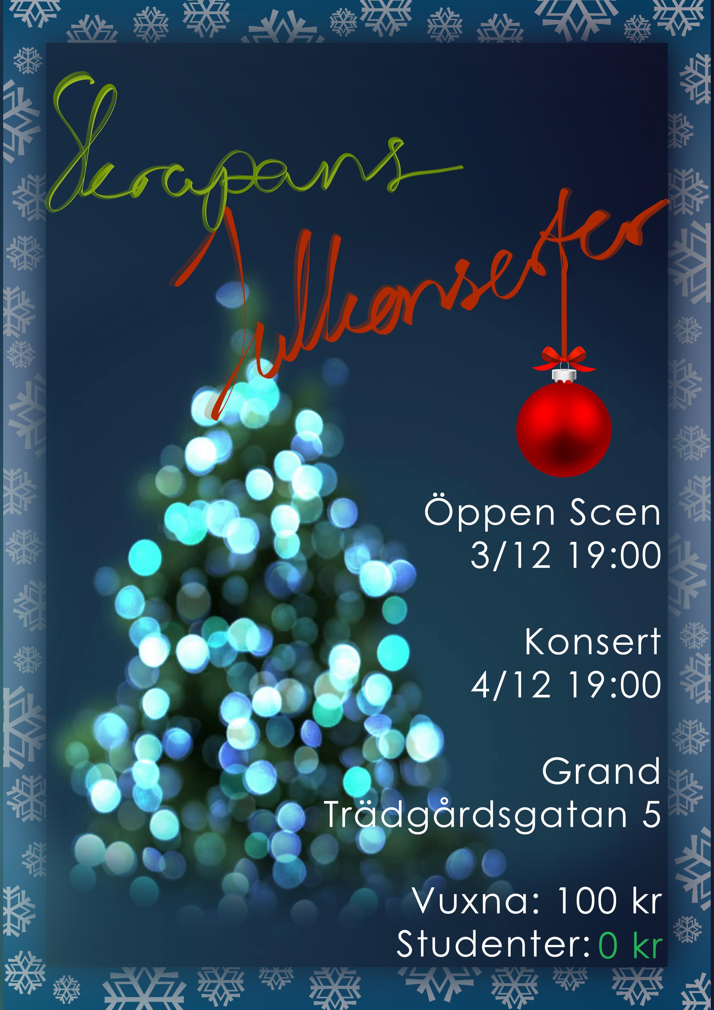 Skrapans Julkonserter på GRAND!